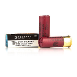 Image For 250 Rounds Of #00 Buck 12 Gauge Federal Ammunition