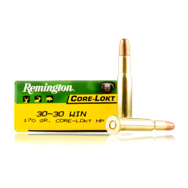 Image For 20 Rounds Of 170 Grain HP Boxer Brass 30-30 Remington Ammunition