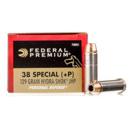 Image For 20 Rounds Of 129 Grain JHP Boxer Nickel-Plated Brass 38 Special Federal Ammunition
