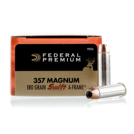 Image For 20 Rounds Of 180 Grain JHP Boxer Brass 357 Magnum Federal Ammunition