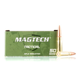 Image For 500 Rounds Of 115 Grain OTM Boxer Brass 300 Blackout Magtech Ammunition