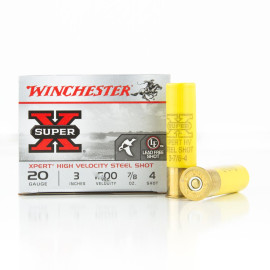 Image For 25 Rounds Of 7/8 oz. #4 Shot 20 Gauge Winchester Ammunition