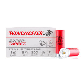 Image For 250 Rounds Of 1-1/8 oz. #7 Shot 12 Gauge Winchester Ammunition