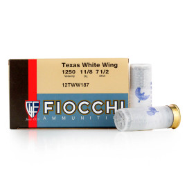 Image For 250 Rounds Of 1-1/8 oz. #7-1/2 Shot 12 Gauge Fiocchi Ammunition