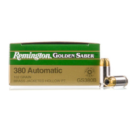 Image For 25 Rounds Of 102 Grain JHP Boxer Nickel-Plated Brass 380 ACP Remington Ammunition