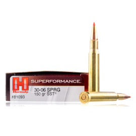 Image For 20 Rounds Of 150 Grain SST Boxer Brass 30-06 Hornady Ammunition