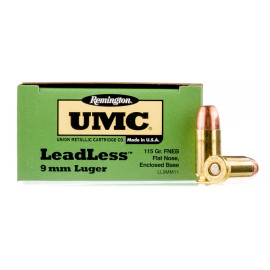 Image For 50 Rounds Of 115 Grain FNEB Boxer Brass 9mm Remington Ammunition