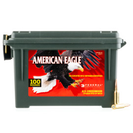 Image For 100 Rounds Of 120 Grain OTM Boxer Brass 6.5 Creedmoor Federal Ammunition