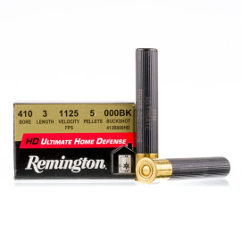 Image For 15 Rounds Of #000 Buck 410 Remington Ammunition