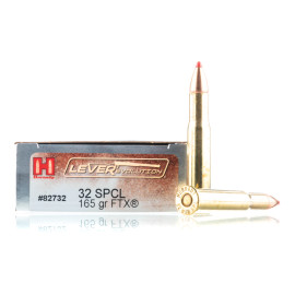 Image For 20 Rounds Of 165 Grain FTX Boxer Brass 32 Win Special Hornady Ammunition