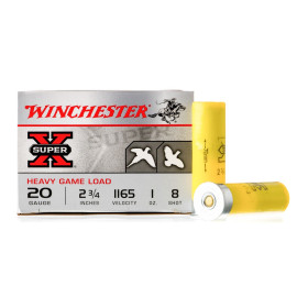Image For 25 Rounds Of 1 oz. #8 Shot 20 Gauge Winchester Ammunition