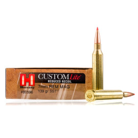 Image For 20 Rounds Of 139 Grain SST Boxer Brass 7mm Rem Magnum Hornady Ammunition