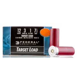 Image For 25 Rounds Of 1 oz. #7-1/2 Shot 12 Gauge Federal Ammunition