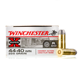 Image For 50 Rounds Of 225 Grain LFN Boxer Brass 44-40 Win Winchester Ammunition