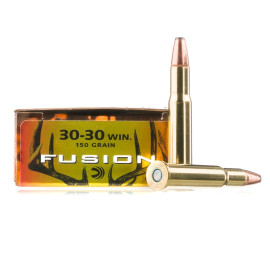 Image For 20 Rounds Of 150 Grain Fusion Boxer Brass 30-30 Federal Ammunition