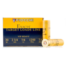 Image For 25 Rounds Of 7/8 oz. #7-1/2 Shot 20 Gauge Fiocchi Ammunition