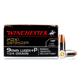 Image For 20 Rounds Of 124 Grain JHP Boxer Nickel-Plated Brass 9mm Winchester Ammunition