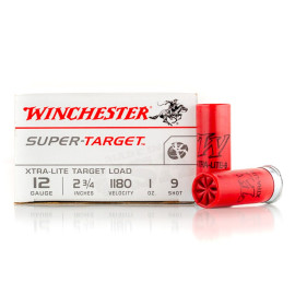 Image For 25 Rounds Of 1 oz. #9 Shot 12 Gauge Winchester Ammunition