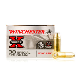 Image For 50 Rounds Of 125 Grain JSP Boxer Brass 38 Special Winchester Ammunition