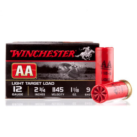 Image For 25 Rounds Of 1-1/8 oz. #9 Shot 12 Gauge Winchester Ammunition