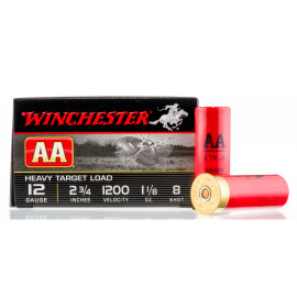 Image For 250 Rounds Of 1-1/8 oz. #8 Shot 12 Gauge Winchester Ammunition