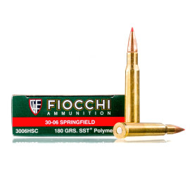 Image For 20 Rounds Of 180 Grain SST Boxer Brass 30-06 Fiocchi Ammunition