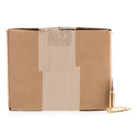 Image For 500 Rounds Of 149 Grain FMJ Boxer Brass 308 Win Lake City Ammunition