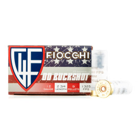 Image For 25 Rounds Of #00 Buck Shotshell 12 Gauge Fiocchi Ammunition