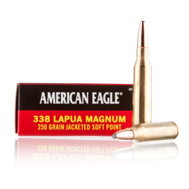 Image For 20 Rounds Of 250 Grain SP Boxer Brass 338 Lapua Federal Ammunition