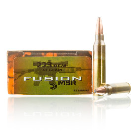 Image For 20 Rounds Of 62 Grain Fusion Boxer Brass 223 Rem Federal Ammunition