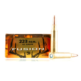 Image For 200 Rounds Of 62 Grain Fusion Boxer Brass 223 Rem Federal Ammunition