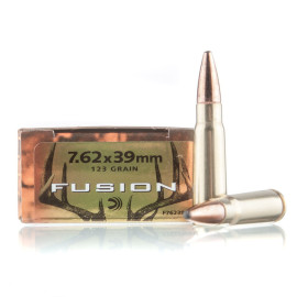 Image For 20 Rounds Of 123 Grain Fusion Boxer Brass 7.62x39 Federal Ammunition