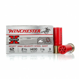 Image For 25 Rounds Of 1-1/8 oz. #3 Shot 12 Gauge Winchester Ammunition