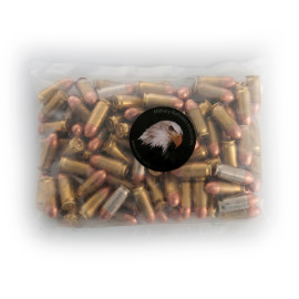 Image For 100 Rounds Of 230 Grain TMJ Boxer Brass 45 Auto MBI Ammunition