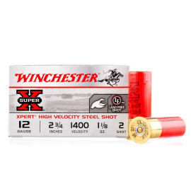 Image For 25 Rounds Of 1-1/8 oz. #2 Shot 12 Gauge Winchester Ammunition