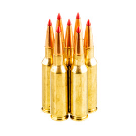 Image For 20 Rounds Of 88 Grain ELD Boxer Brass 224 Valkyrie Hornady Ammunition