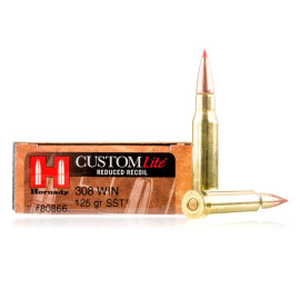 Image For 20 Rounds Of 125 Grain SST Boxer Brass 308 Win Hornady Ammunition