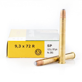 Image For 20 Rounds Of 193 Grain SP Boxer Brass 9.3x72mm Sellier and Bellot Ammunition