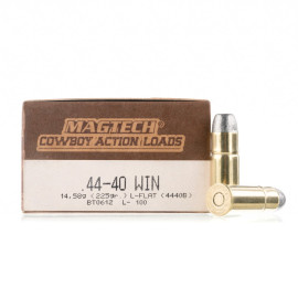 Image For 50 Rounds Of 225 Grain LFN Boxer Brass 44-40 Win Magtech Ammunition