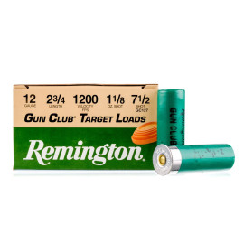 Image For 25 Rounds Of 1-1/8 oz. #7-1/2 Shot 12 Gauge Remington Ammunition