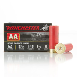 Image For 25 Rounds Of 1-1/8 oz. #8 Shot 12 Gauge Winchester Ammunition