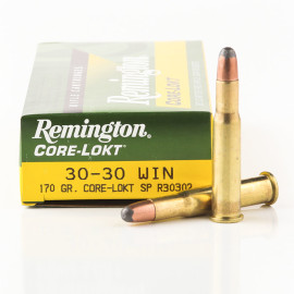 Image For 20 Rounds Of 170 Grain SP Boxer Brass 30-30 Remington Ammunition