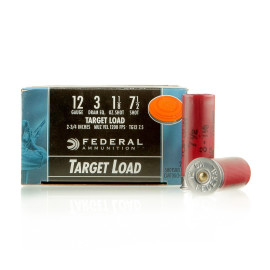 Image For 250 Rounds Of 1-1/8 oz. #7-1/2 Shot 12 Gauge Federal Ammunition