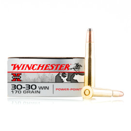 Image For 200 Rounds Of 170 Grain PP Boxer Brass 30-30 Winchester Ammunition