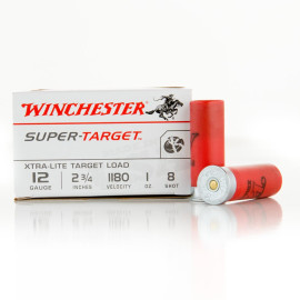 Image For 25 Rounds Of 1 oz. #8 Shot 12 Gauge Winchester Ammunition