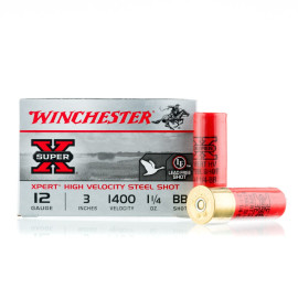 Image For 25 Rounds Of 1-1/4 oz. BB Shot 12 Gauge Winchester Ammunition