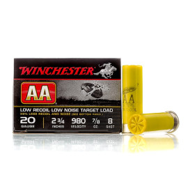 Image For 25 Rounds Of 7/8 oz. #8 Shot 20 Gauge Winchester Ammunition