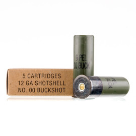 Image For 250 Rounds Of #00 Buck Shotshell 12 Gauge Winchester Ammunition