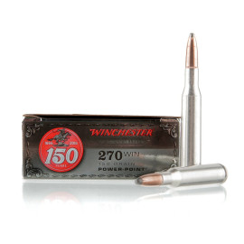 Image For 20 Rounds Of 150 Grain PP Boxer Brass 270 Win Winchester Ammunition