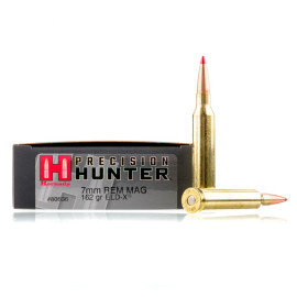 Image For 20 Rounds Of 162 Grain ELD Boxer Brass 7mm Rem Magnum Hornady Ammunition